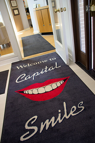 Capital Smiles front entry way