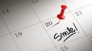 Calendar to illustrate speeding up Invisalign with AcceleDent